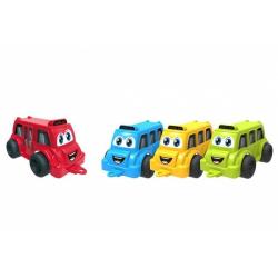 Obrázek Autobus pro nejmenší plast 26cm na volný chod 3 barvy 12m+