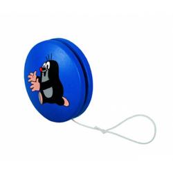 Obrázek Jo-jo modré s běžícím krtkem