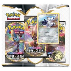 Obrázek Pokémon TCG: SWSH02 Rebel Clash 3 Blister Booster