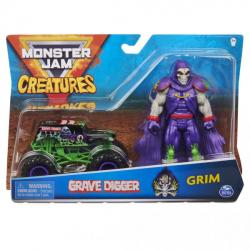 Obrázek Monster Jam Kovové auto s figurkou