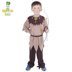 Obrázek Dětský kostým indián s páskem (M) EKO