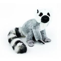 Obrázek plyšový lemur, 19 cm