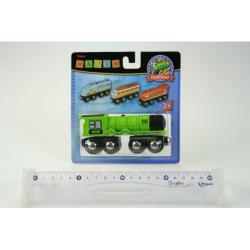 Obrázek Maxim Parní lokomotiva - zelená