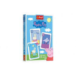 Obrázek Černý Petr Prasátko Peppa/Peppa Pig společenská hra - karty v krabičce 6x9x1cm 20ks v boxu