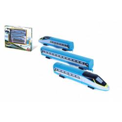 Obrázek Vlak/SC Pendolino České dráhy s kolejemi plast na baterie se zvukem se světlem v krabici 55x43x5,5cm