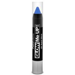 Obrázek Tužka na obličej UV neon 3,5 g modrá (blue)
