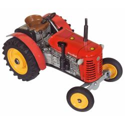 Obrázek Traktor Zetor 25A červený na klíček kov 15cm 1:25  Kovap