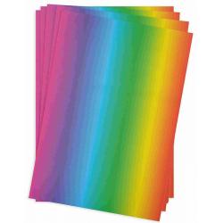 Obrázek Duhový papír 34x24,5cm 20ks, 130g