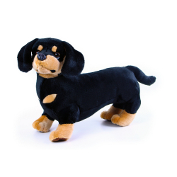 Obrázek plyšový pes jezevčík 45 cm