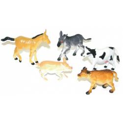 Obrázek zvířata domácí v sáčku 5 ks