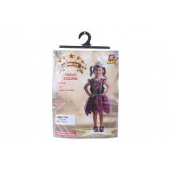 Obrázek Šaty na karneval - pavoučí královna, 92 - 104 cm