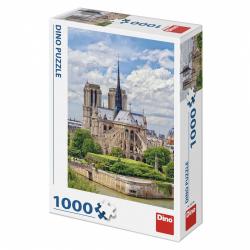 Obrázek Puzzle 1000 dílků Katedrála Notre Dame