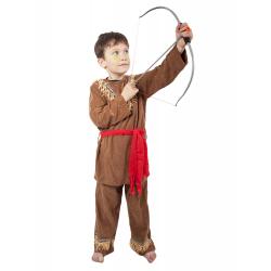 Obrázek karnevalový kostým indián, dětský, vel. M