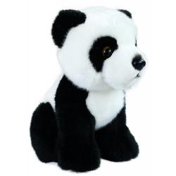 Obrázek plyšová panda sedící, 18 cm