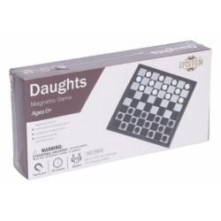 Obrázek Dáma magnetická společenská hra v krabici 20x10x4cm
