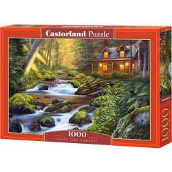 Obrázek Puzzle Castorland 1000 dílků - Domek u řeky