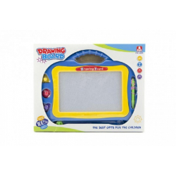 Obrázek Magnetická tabulka kreslící plast asst 2 barvy v krabici 31x24x2cm