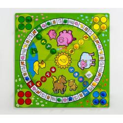 Obrázek Člověče, nezlob se obrázkové Moje první zvířátka společenská hra pro nejmenší MPZ