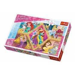 Obrázek Puzzle Princezny Disney koláž  41x27,5cm 160 dílků