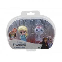 Obrázek Frozen 2: 2-pack svítící mini panenka - Elsa Travelling & Fire Spirit