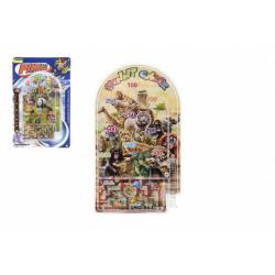 Obrázek Pinball ZOO hlavolam plast 9x16cm 2 druhy na kartě