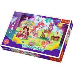 Obrázek Puzzle Enchantimals  41x27,5cm 160 dílků