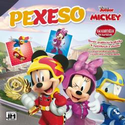 Obrázek Pexeso v sešitu Mickey Mouse