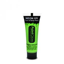 Obrázek Barvy na obličej UV neon 13 ml - zelená (UV green)