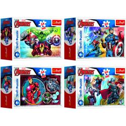 Obrázek Puzzle mini Disney Marvel The Avengers 54 dílků