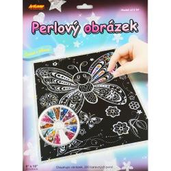 Obrázek Perlový obrázek - motýlci