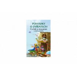 Obrázek Kniha Pohádky o zvířatech Cvrček a mravenec CZ verze 15x22cm