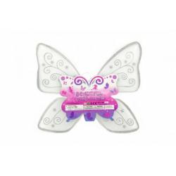 Obrázek Krídla motýlie nylon 49x43cm v sáčku karneval