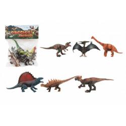 Obrázek Dinosaurus plast 14-19cm 6ks v sáčku