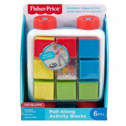 Obrázek Fisher Price vozík s kostkami