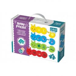 Obrázek Puzzle baby Barvy 4ks