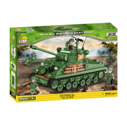 Obrázek Cobi 2533  II WW M4A3E8 Sherman Easy Eight