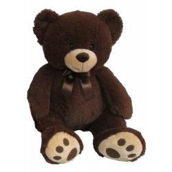 Obrázek Plyšový Medvídek 60 Cm, Tmavě Hnědý