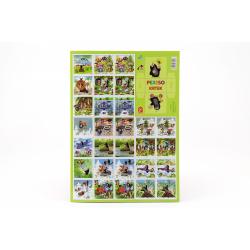 Obrázek Pexeso Krtek papírové společenská hra 32 obrázkových dvojic