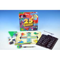 Obrázek 25 HER Sada tračné společnských stolových hier v krabici