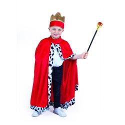 Obrázek Dětský kostým královský plášť