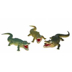 Obrázek krokodíl 38 cm, 3 druhy