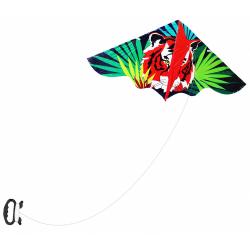 Obrázek drak létající tygr, 120 x 61 cm
