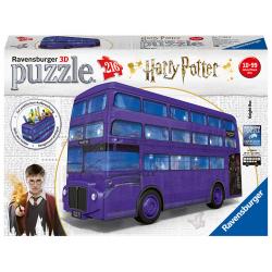 Obrázek Puzzle Harry Potter Rytířský autobus 216 dílků