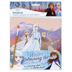 Obrázek Omalovánka vodová se štětcem Frozen 2 - Ledové království