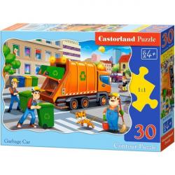 Obrázek Puzzle Castorland 30 dílků - Popelářské auto