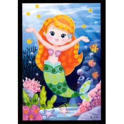 Obrázek Flitrový obrázek - Mořské víly