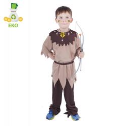 Obrázek Dětský kostým indián s páskem (S) EKO