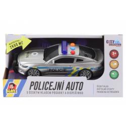 Obrázek Policejní auto na setrvačník s českým zvukem