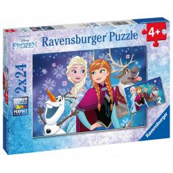 Obrázek Puzzle Disney Ledové království 2x24 dílků