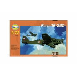 Obrázek Model Aero MB-200 1:72 22,3x31,2cm